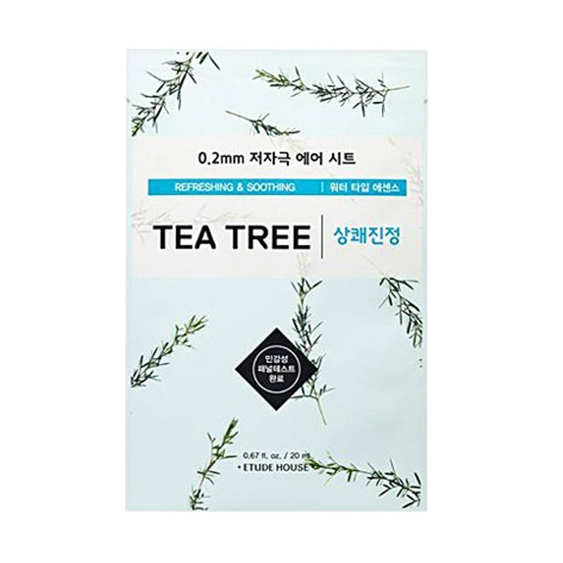 Etude House Tea Tree Therapy Air Mask Masker Wajah 0 2 mm