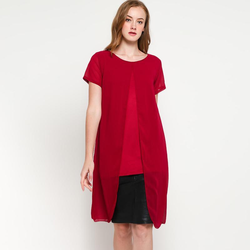 9 to 12 004 Tirada Short Dress Wanita