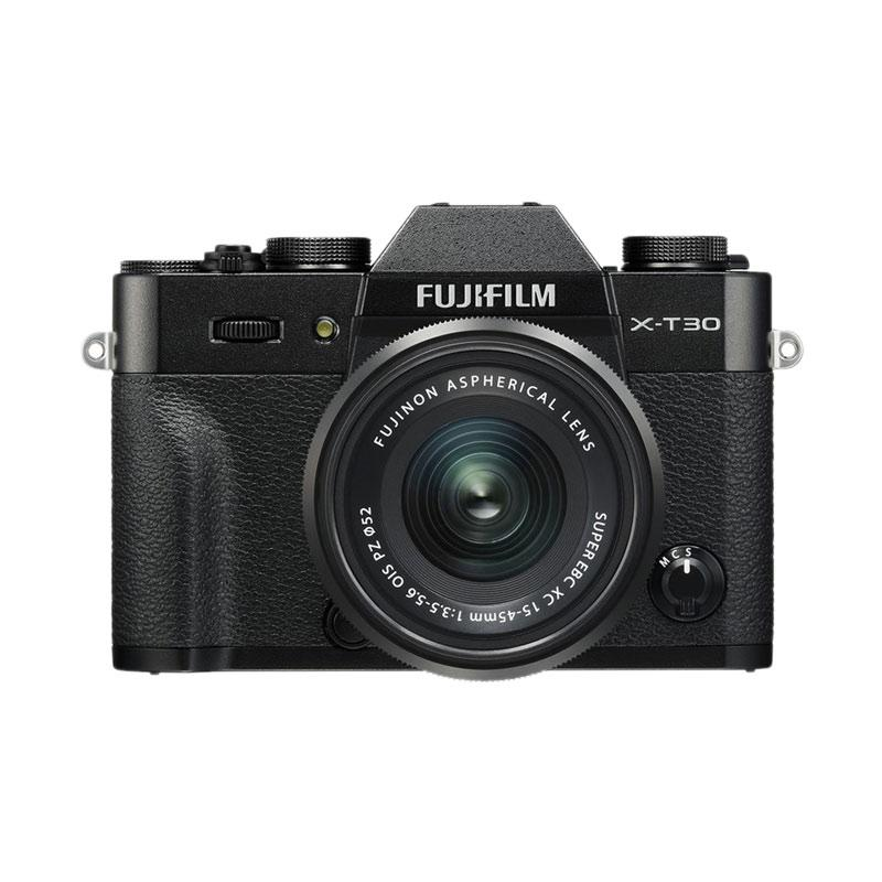 Fujifilm X T30 Kit XC 15 45mm Mirrorless Camera