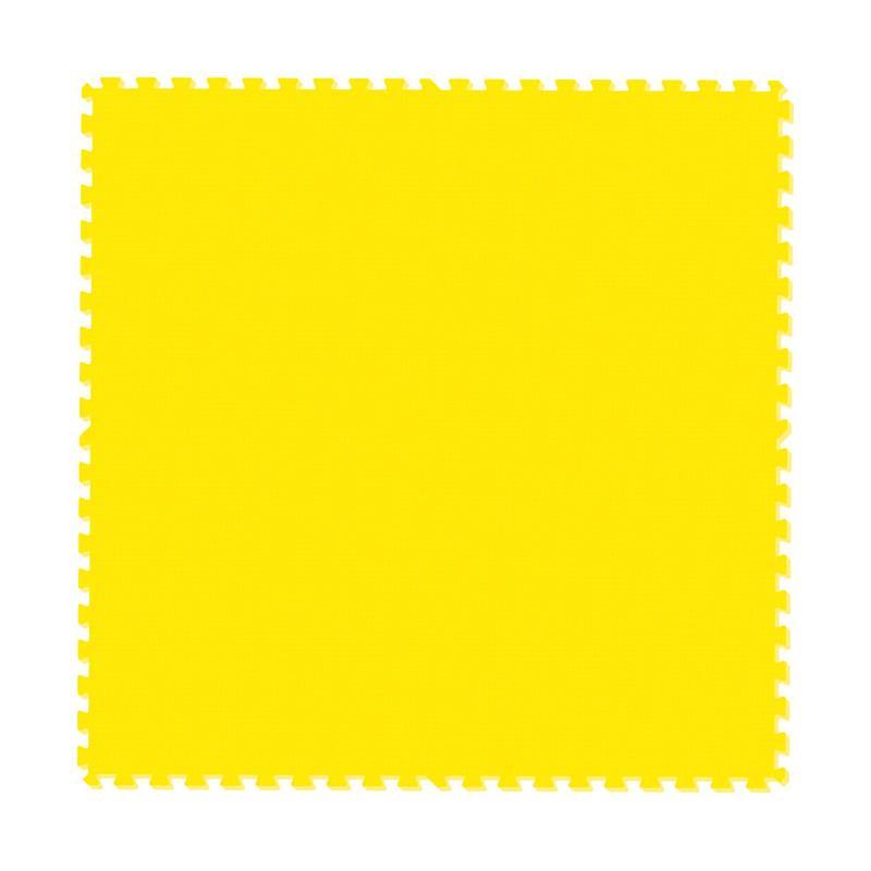 EVA Matras Bela Diri - Kuning [Tebal 2 cm/ Ukuran 100 x 100 cm