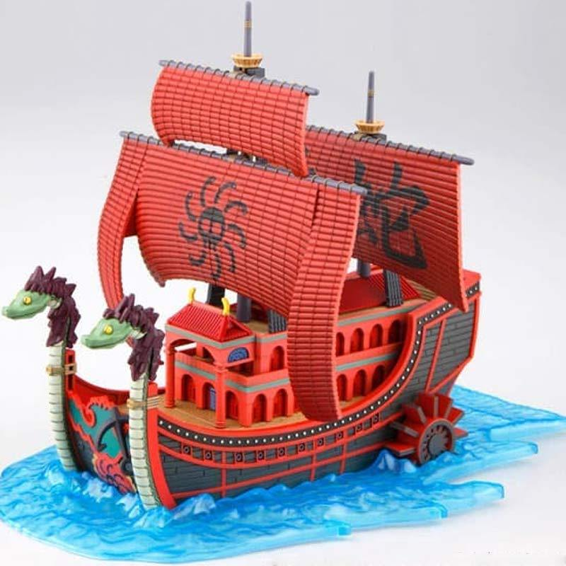 New Bandai ONE PIECE Grand Ship Collection Marine Warship Model Kit Japan