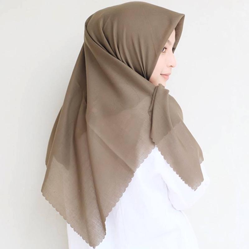 Jual Upnap Hijab Voal Laser Cut Square Jilbab Segiempat Online November 2020 Blibli Com