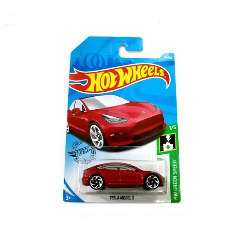 Jual Hot Wheels Tesla Model 3 Dark Red 19 Online November 2020 Blibli Com