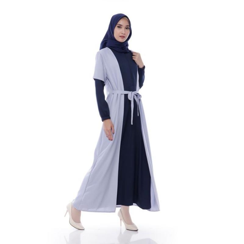 Jual Gamis Wanita Fashion Muslim Dress Muslim Wanita Inayah Maxi Dress Muslim Polos Original Online April 2021 Blibli
