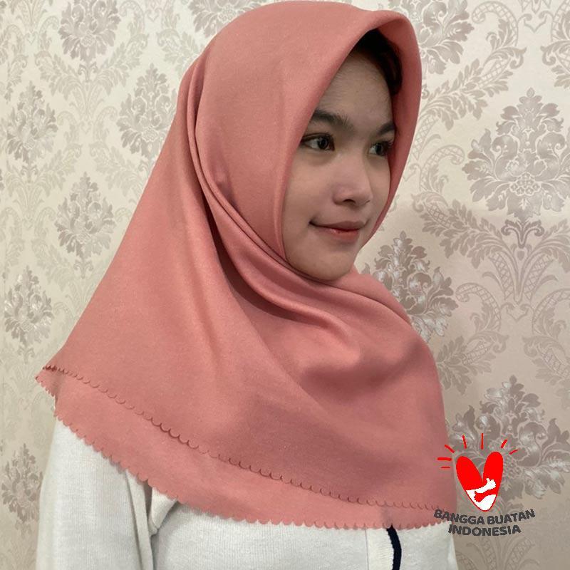 Jual Anmahijab Shinar Glamour Laser Cut Gliter Polos Premium Hijab Segi Empat Online November 2020 Blibli