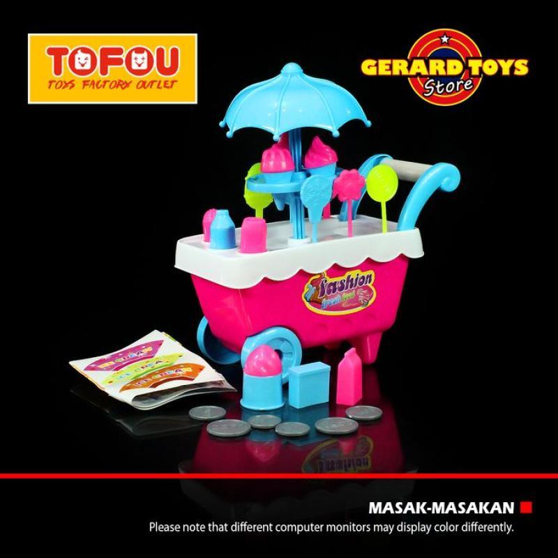 Jual Oem Masak Masakan Gerobak Ice Cream Stroller Kecil Mainan Anak Pink Online November 2020 Blibli Com