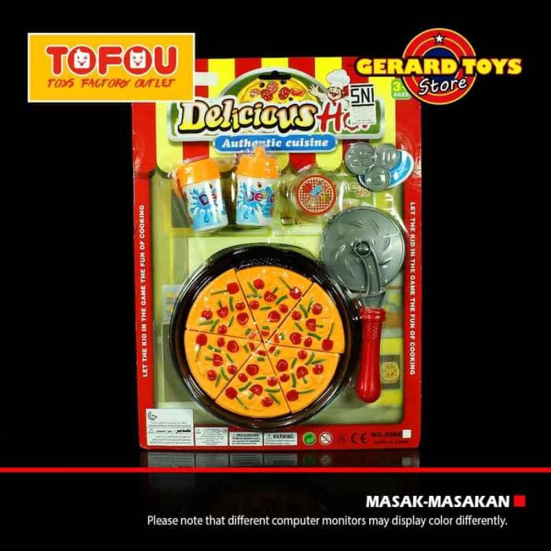 Jual Oem 598e20 Masak Masakan Pizza Set Mainan Anak Online September 2020 Blibli Com
