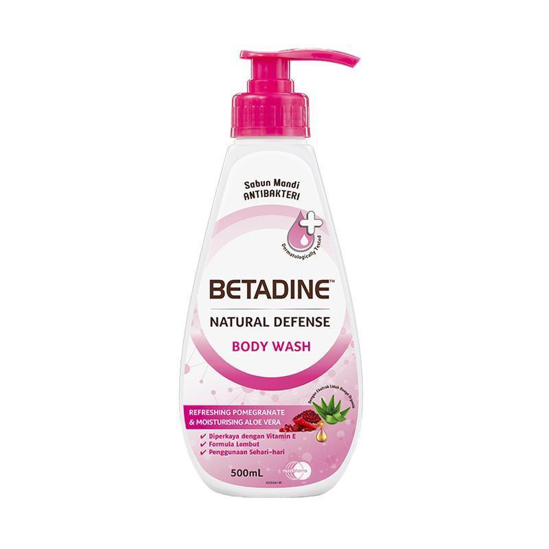 WHS BETADINE Pomegranate Body Wash 500 mL