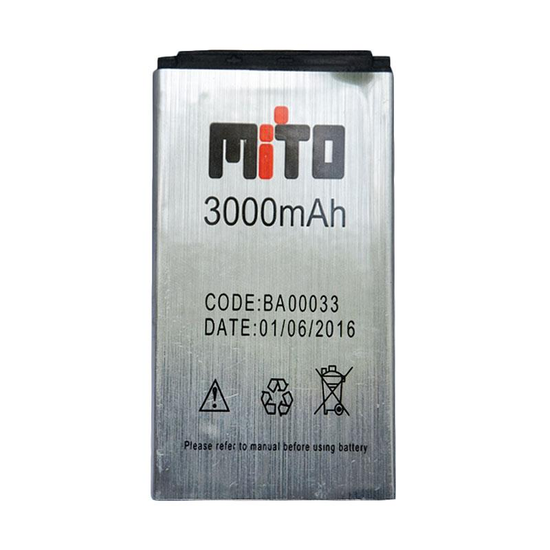 Mito BA00033 Baterai for Mito Mini 111 - Silver