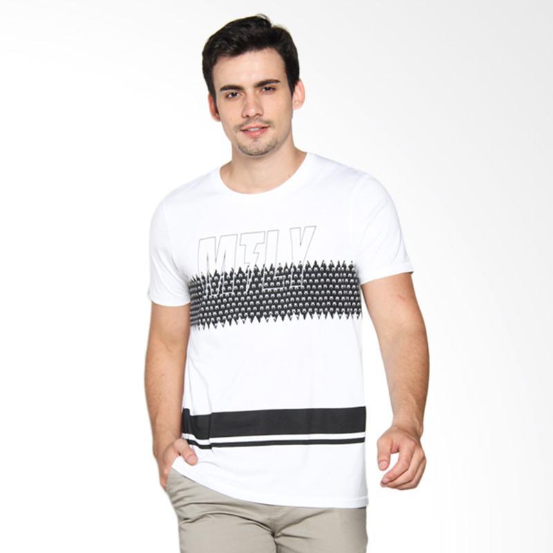 Moutley 336111612 Men T-Shirt - White