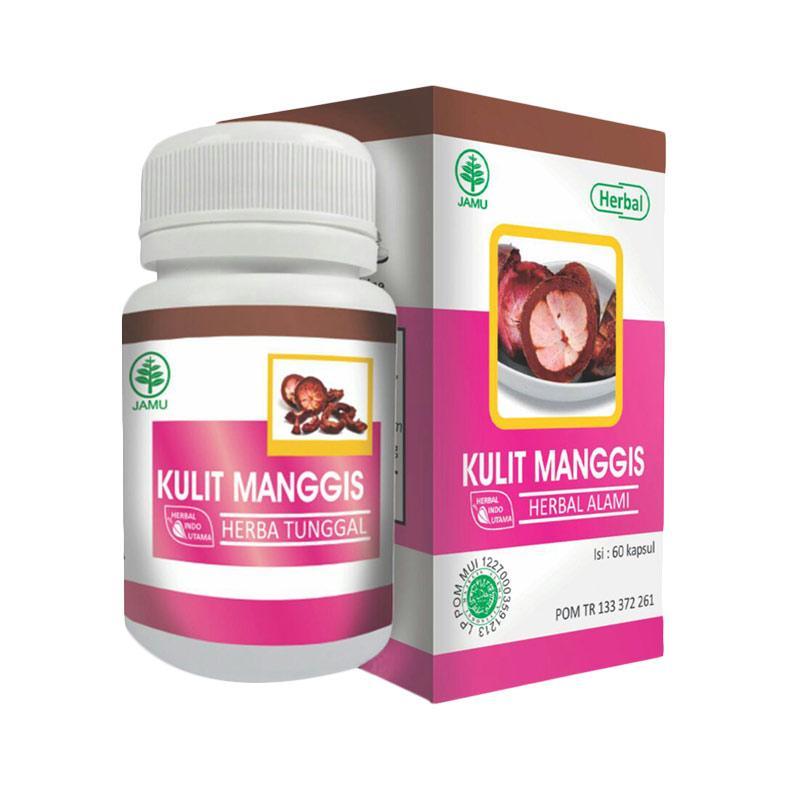 Herbal Indo Utama Hiu Kulit Manggis Untuk Daya Tahan Tubuh & Kesehatan Kulit
