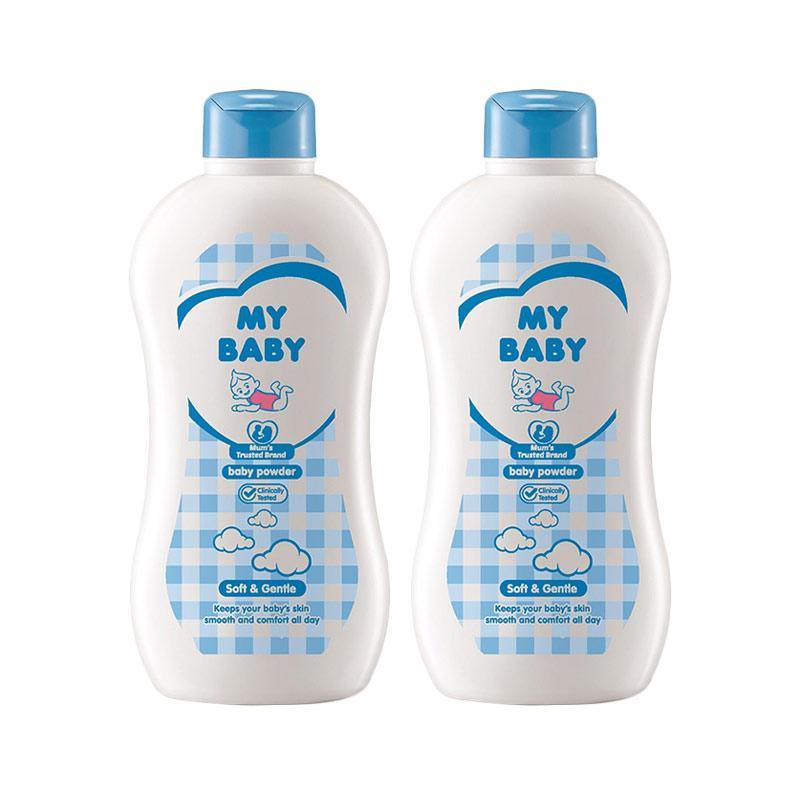 My Baby Powder Soft & Gentle [350 g/ isi 2]