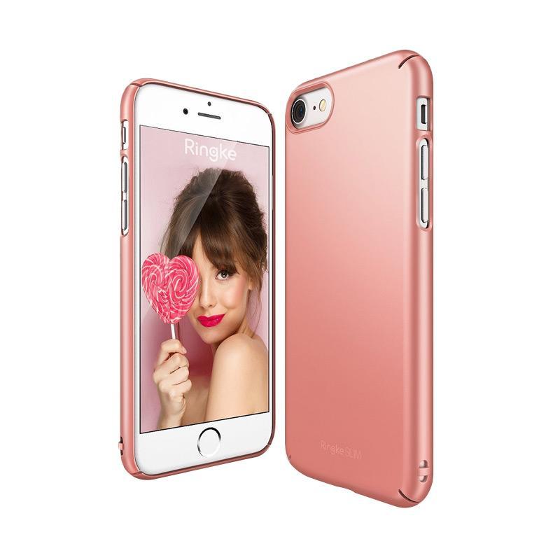 Ringke Slim Casing for iPhone 7 - Rose Gold