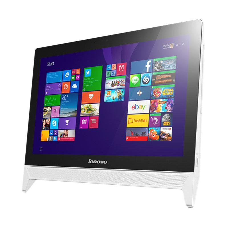 Lenovo C20-00 All in One PC - White [F0BB00VXID] Extra diskon 7% setiap hari Extra diskon 5% setiap hari Citibank – lebih hemat 10%