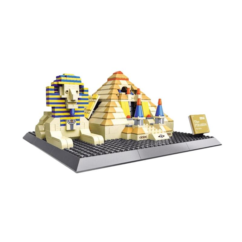 Wange 7011 Pyramids Of Giza Mini Blocks
