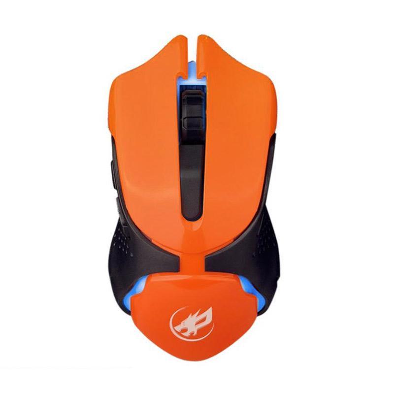 Warwolf Q-5 Gaming Mouse - Orange