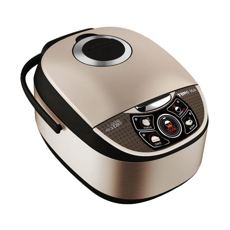 Yong Ma YMC 111 Digital Magic Com Rice Cooker - Black [2 L]