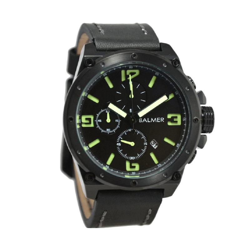 Balmer B.7846MB Jam Tangan Pria - Black Green