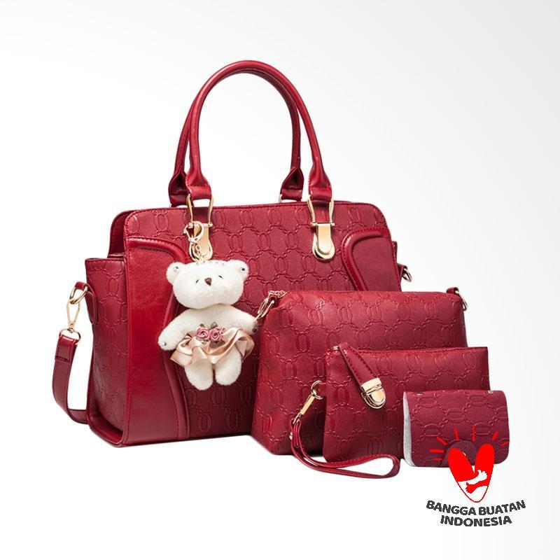 IMF Bg255 Tas Import Tas Wanita - Winered