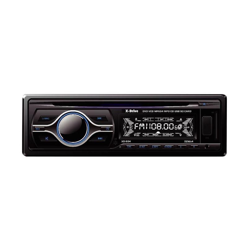 harga X-Drive XD-604 SIngle DIn DVD Player Blibli.com