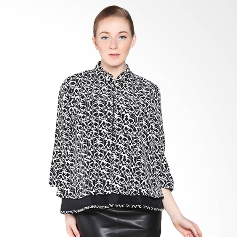 A&D Fashion MS 2816-602 Blouse - Black White