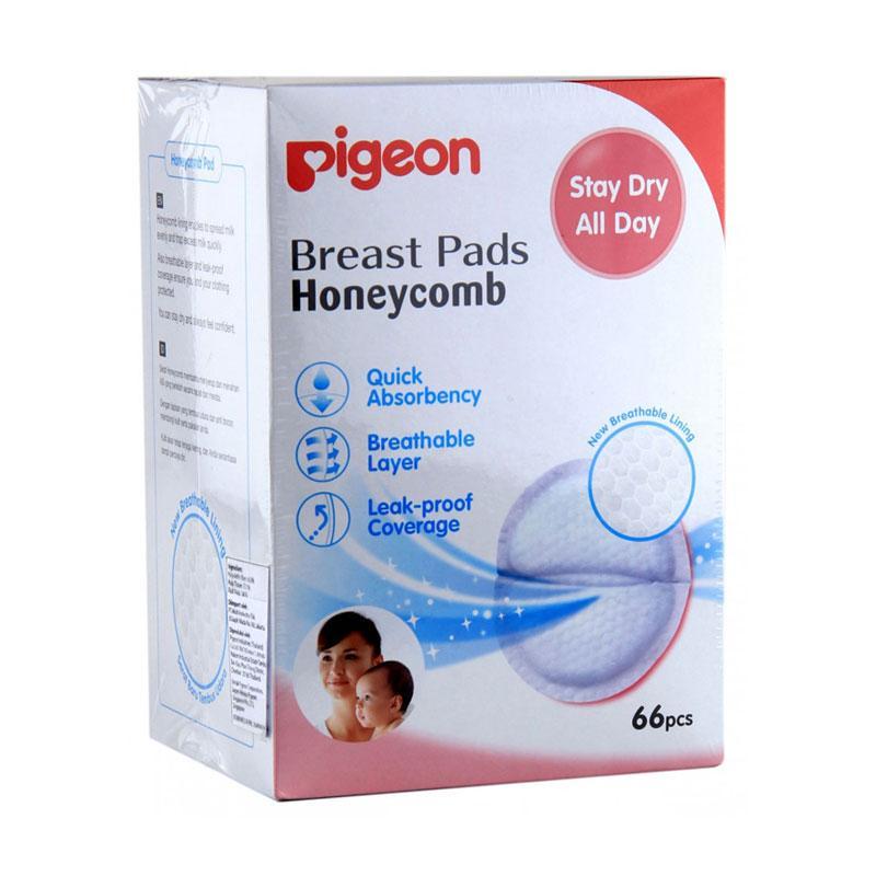 Pigeon Breast Pads Honeycomb [66 pcs]