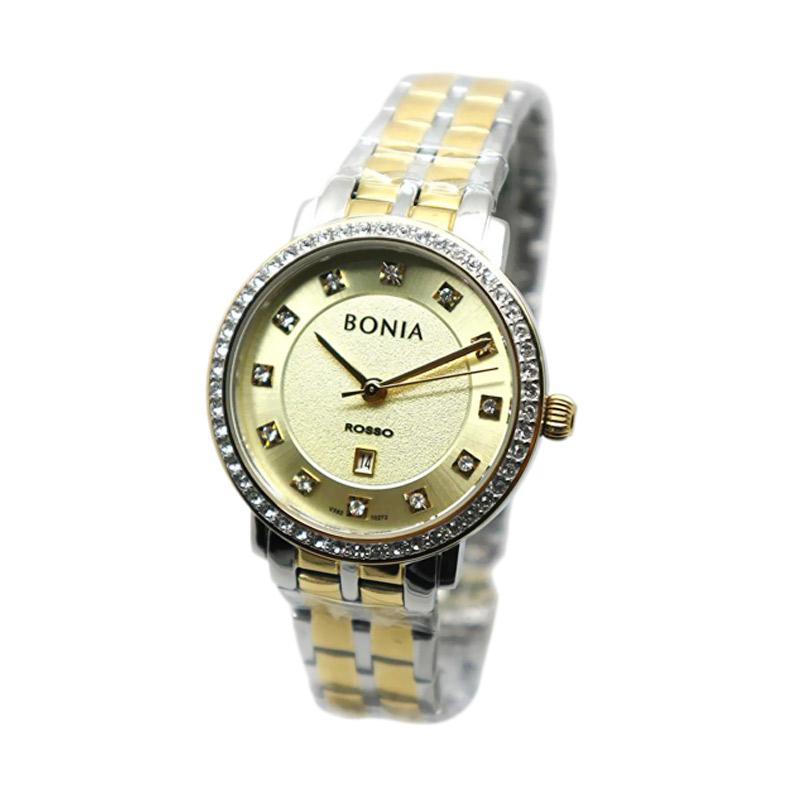 Bonia BNB10272-2127S Jam Tangan Wanita - Silver