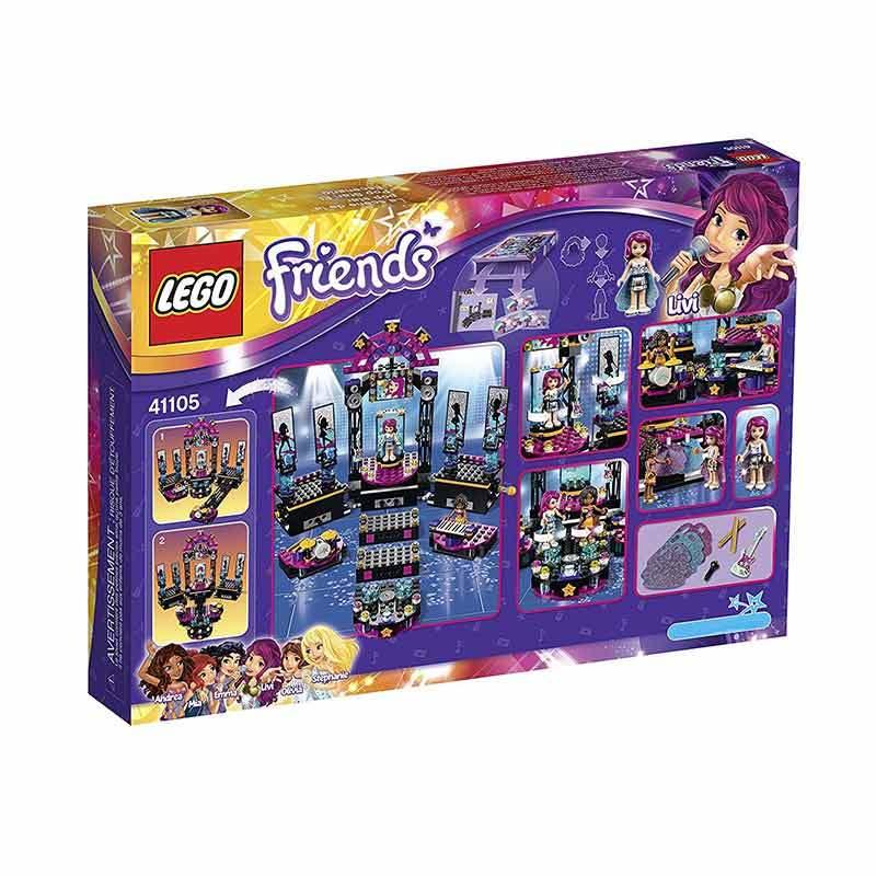 Jual Lego Friends 41105 Pop Star Show Stage Mainan Blocks Dan