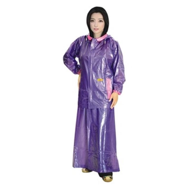 Rainwear Puspa Jas Hujan - Ungu