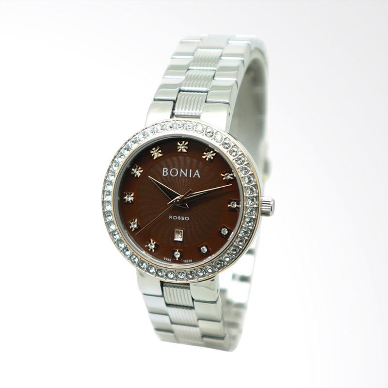 Bonia BNB10314-2347S Jam Tangan Wanita - Silver