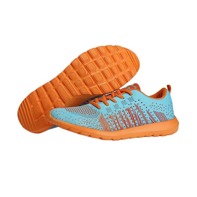 KETA 181 Sepatu Running - LtBlue Orange
