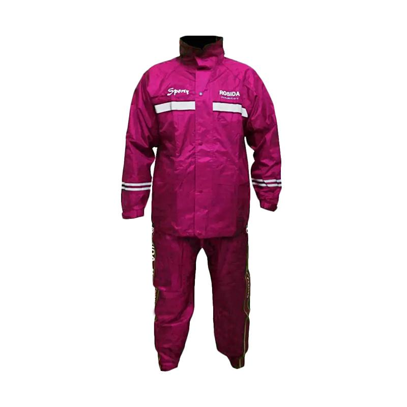 harga Rosida R882 Sporty Jas Hujan - Pink Blibli.com