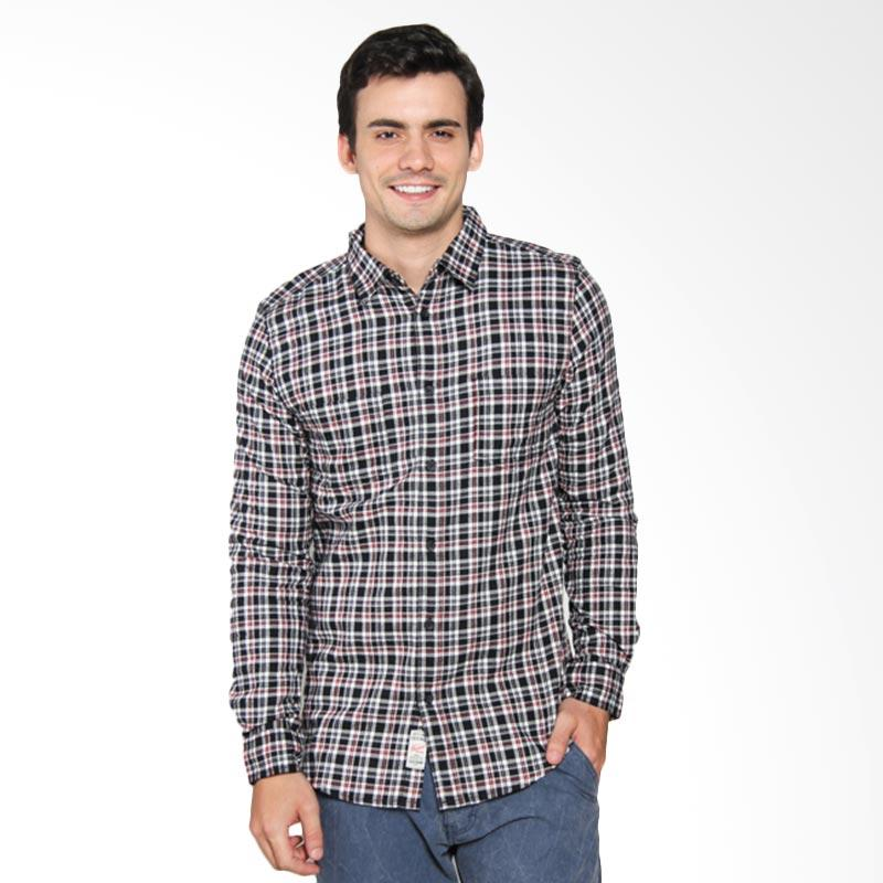 3SECOND Relaxed Fit Man Shirt - Black [111031711]