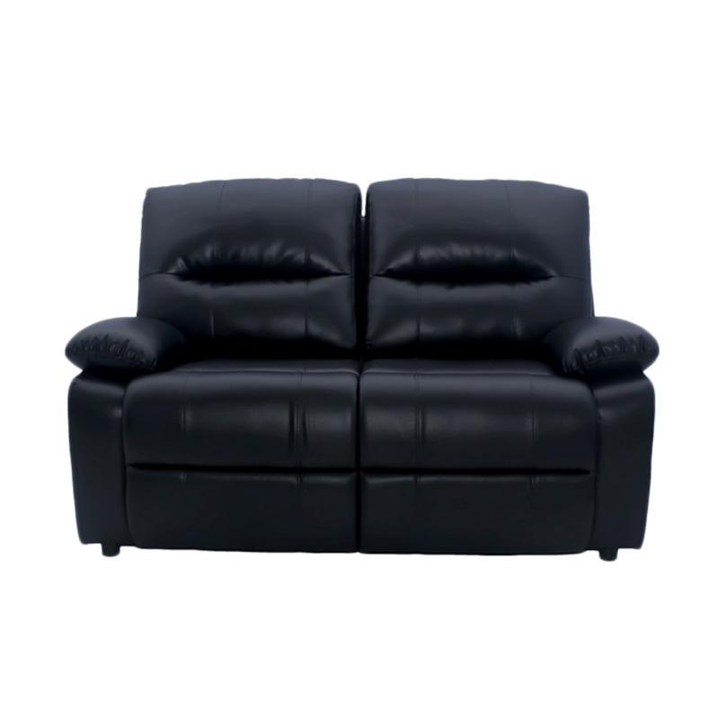 Aim Living Lux 2 Seat Sofa - Hitam