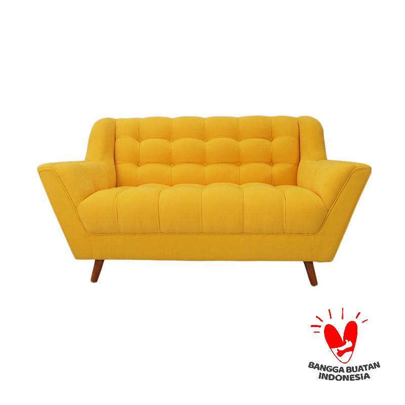 Antik Mebel Vanya Sofa - Yellow