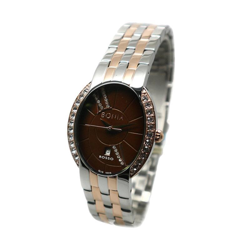 Bonia BNB10316-2643S Jam Tangan Wanita - Silver