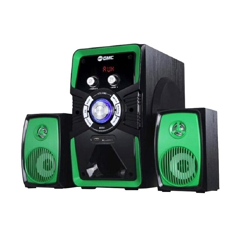 GMC 885U Speaker Bluetooth Super Bass - Green