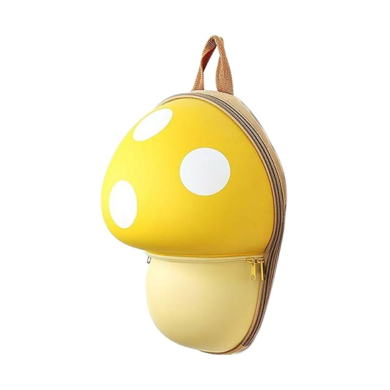 J&J Kids Mushroom Backpack - Yellow