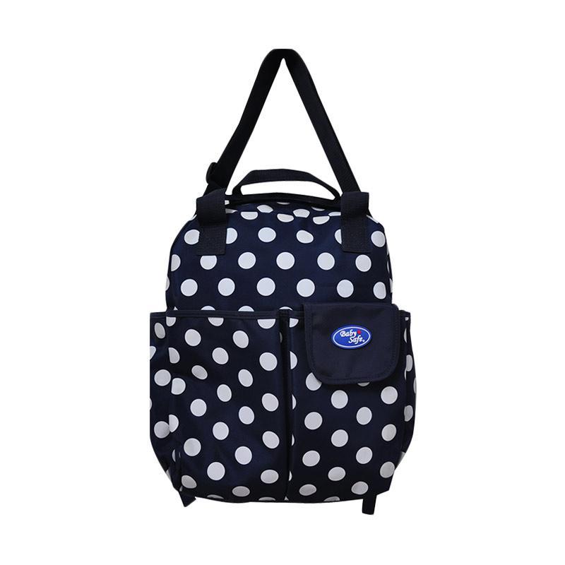 BabySafe BI027 3in1 Carry Bag Tas Bayi - Navy