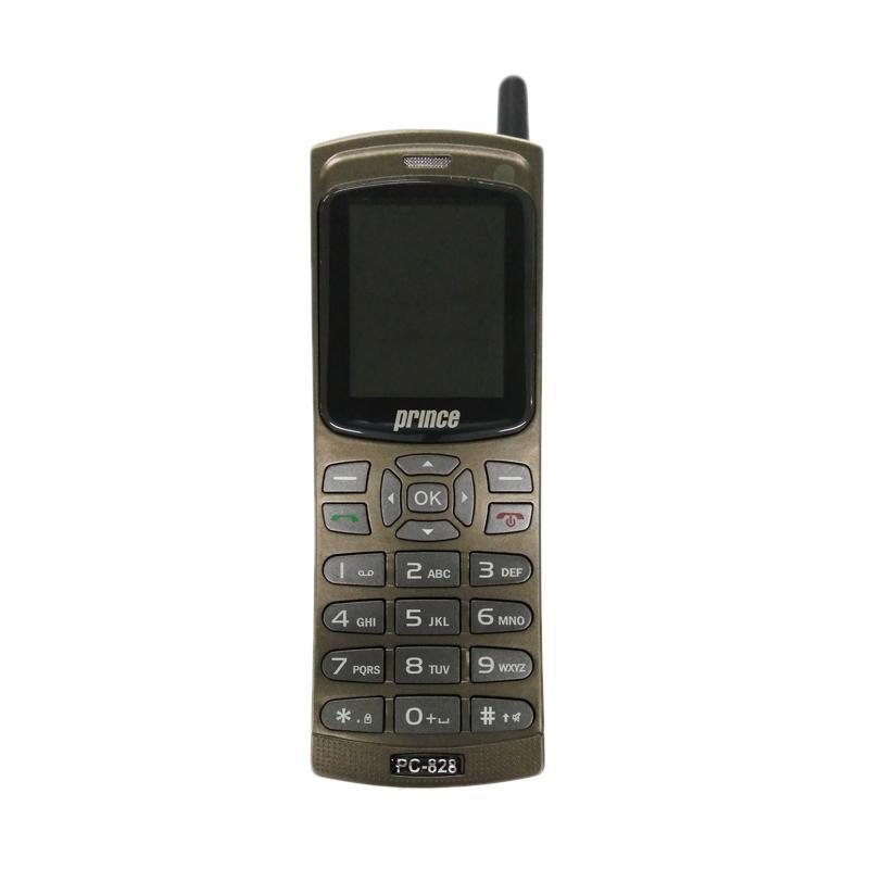 Prince PC828 Handphone - Grey [Dual SIM]