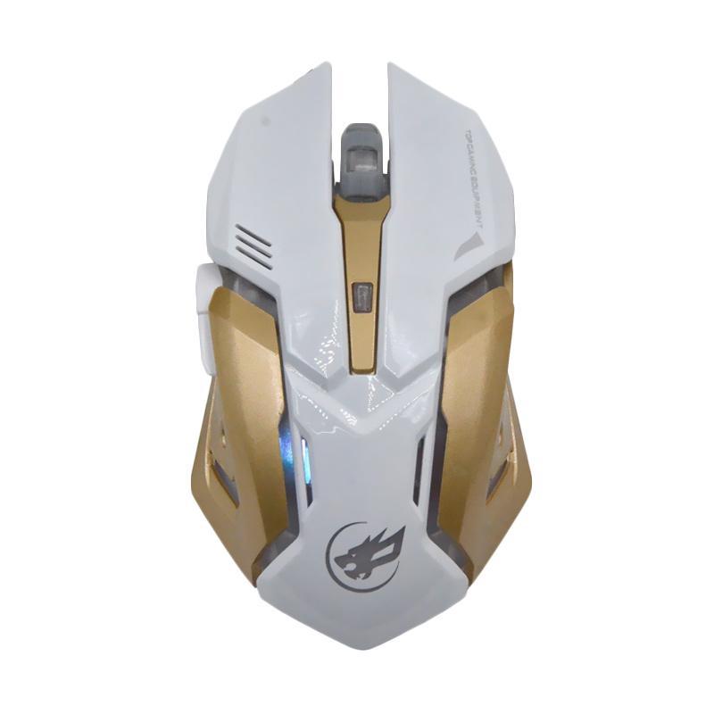 Warwolf T-1 Gaming Mouse - Putih
