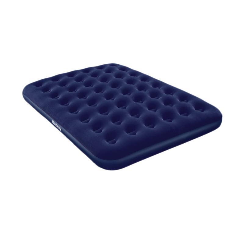 harga Bestway 67003 Air Bed Queen - Blue [203 x 152 cm] Blibli.com