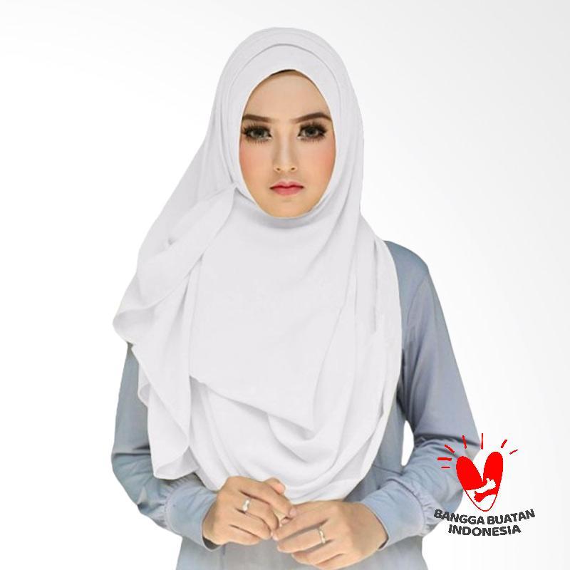 Milyarda Hijab Tazkia Kerudung Instan - Putih