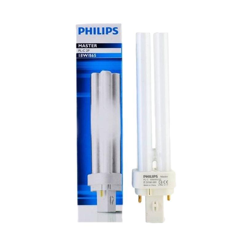 harga PHILIPS Lampu PLC - Putih [18 Watt] Blibli.com