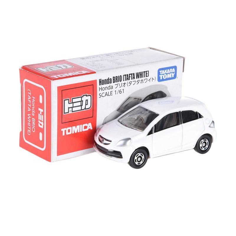 Jual Tomica Honda Brio Tafta White Diecast Online - Harga & Kualitas Terjamin   Blibli.