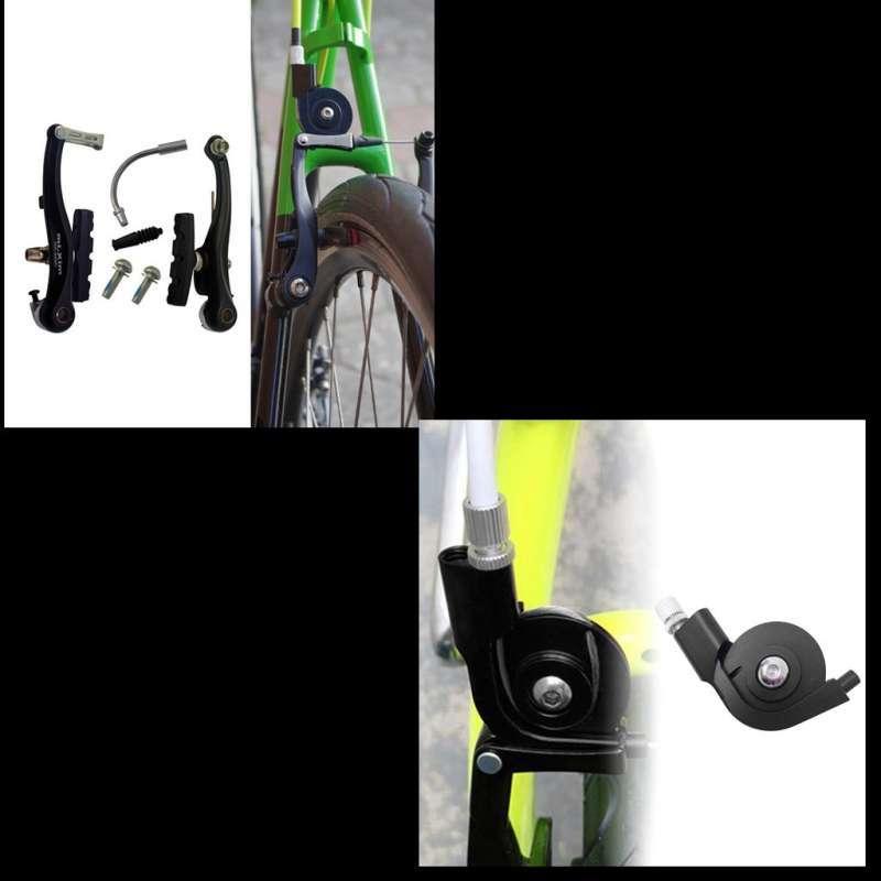 2Pc Durable Road Bicycle Folding Bike V Brake Converter Adapter to Caliper Brake