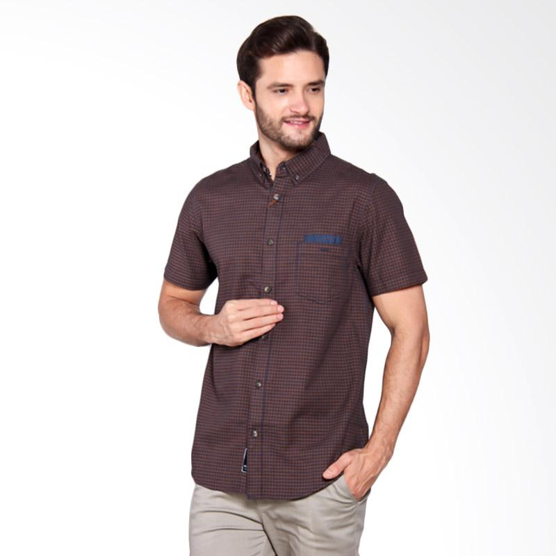 Famo Relaxed Basic Shirt - Brown [515051711]