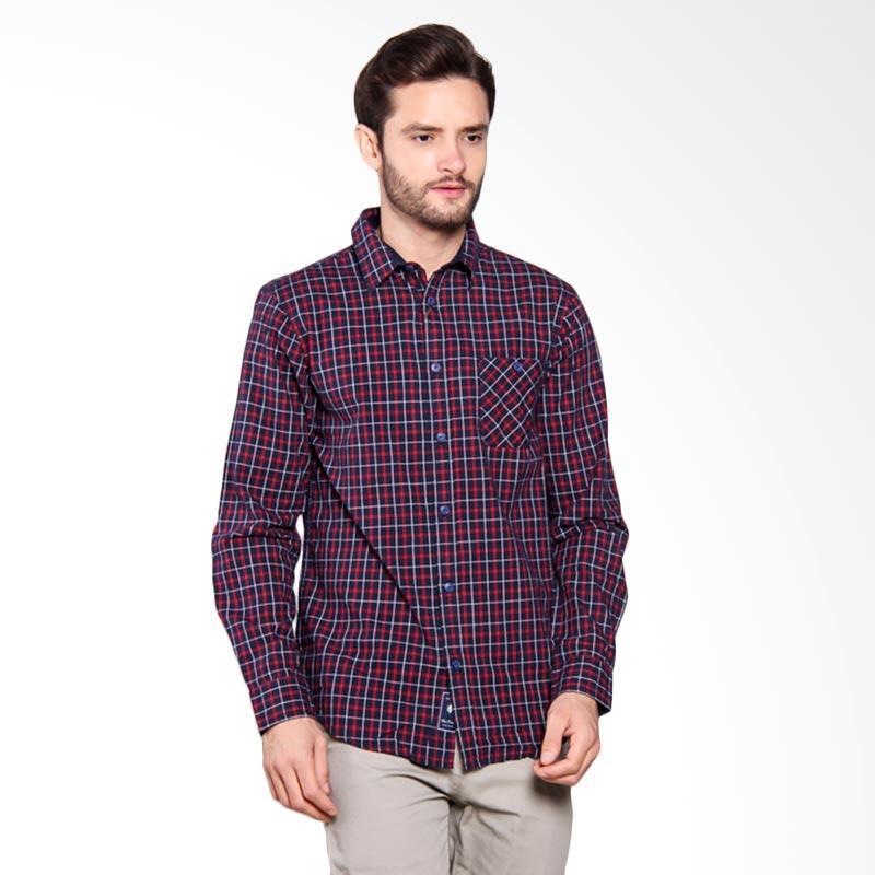 Famo Casual Relaxed Shirt - Blue [509051711]