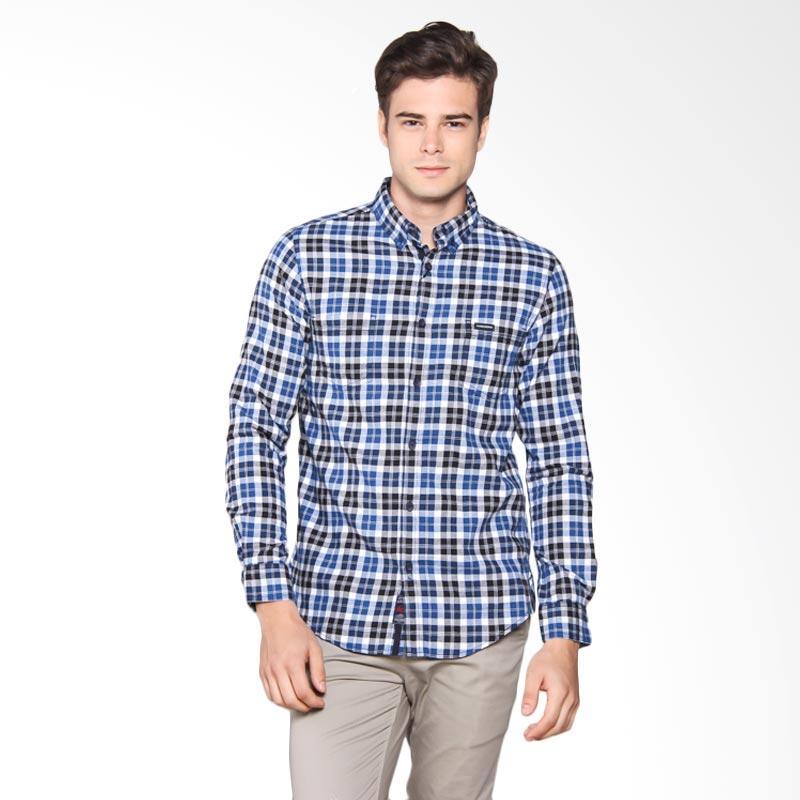 3SECOND Shirt Pria - Blue 107061711