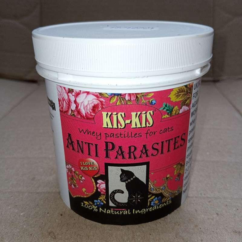 Kis Kis Anti Parasites Obat Kucing Anti Kutu Pinjal Caplak Cacing 1 Tablet